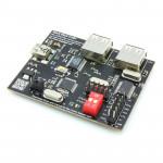 Black Flash USB+ Universal Memory Programmer with Integrated USB to COM(TTL) and Two Port USB 2.0 Hub