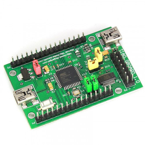 TIAO GIMX GBoard - Game Input MultipleXer / MatriX (USB Serial and ATMEGA32U4 Development Board)