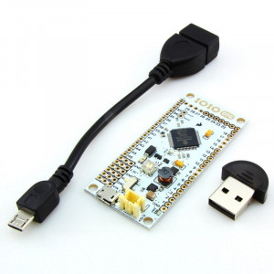 IOIO-OTG for Android with USB OTG Cable and Bluetooth Adapter
