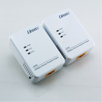 Linxe LSP06 200Mbps etherent powerline network adapter Kit (2)