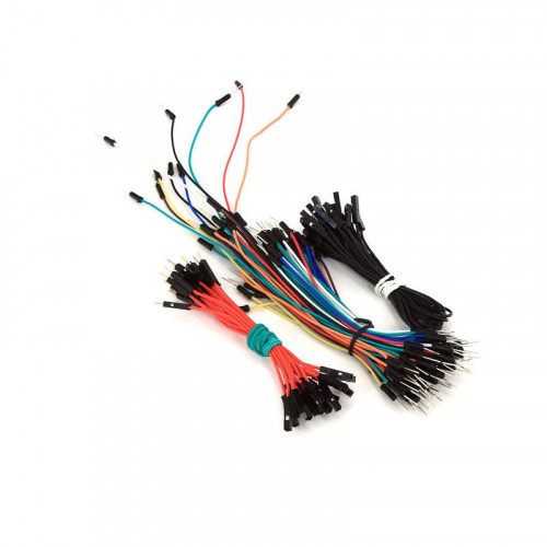 Solderless Flexible Breadboard Jumper Cable Wires MM MF FF  (70 + 20 + 15 PCS)