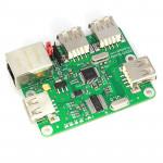 TIAO Zero Buddy - USB/Ethernet expension board for Raspberry Pi Zero