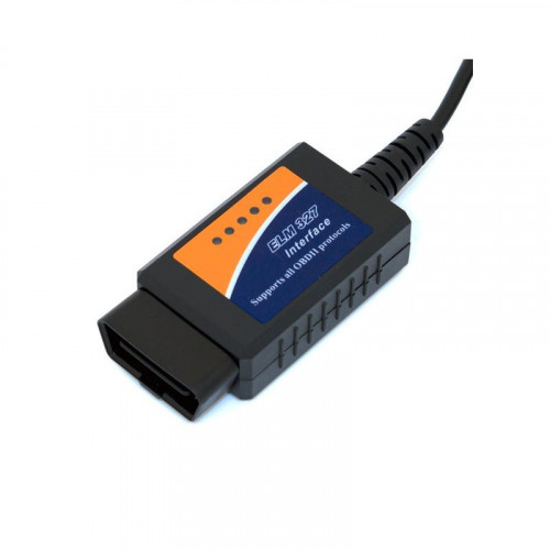 ELM327 USB OBDII OBD2 EOBD CAN-BUS Code Scanner