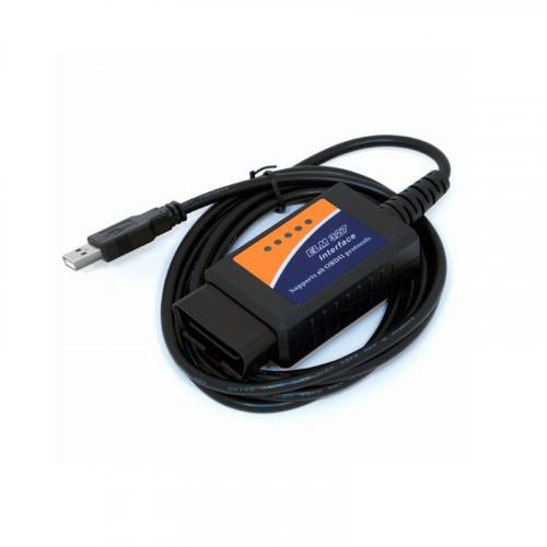 ELM327 USB OBDII OBD2 EOBD CAN-BUS Code Scanner
