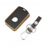 TIAO Volvo XC90 S90 XC60 V90 Car Key Case,Genuine Leather Car Key Holder Bag Cover