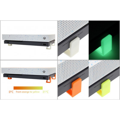 Horizontal Stand Compatible with Xbox One with shock absorbing feet (Original, S and X)